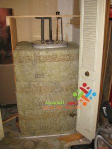عزل خزانات الماء
