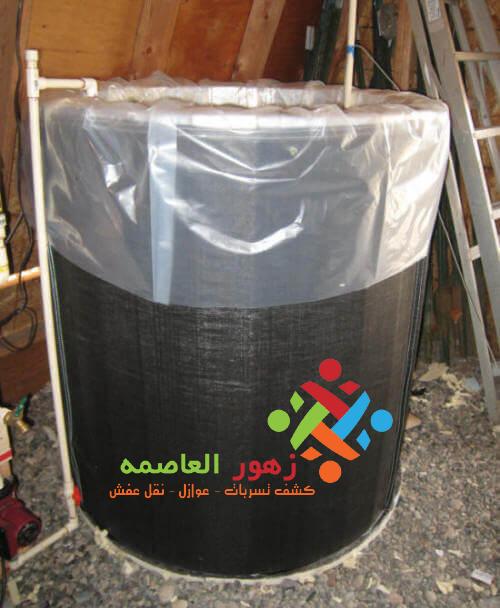 عزل خزانات مياه الشرب